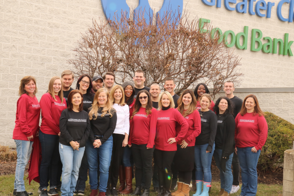RosmanSearch Entire Team at Food Bank December 2018